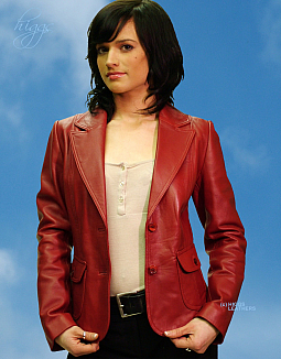 Higgs Leathers NEW STOCK!  Betsy (women's leather Blazer jackets)